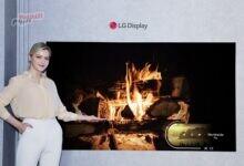 صورة إل جي تكشف عن أصغر شاشة تلفزيون OLED