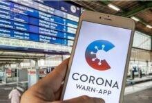 صورة تطبيق التحذير من كورونا بألمانيا أبلغ عن 200 ألف نتيجة إيجابية حتى الآن