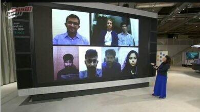 صورة فريق جامعة كوينزلاند يفوز بالمرتبة الأولى في جوائز إريكسون للابتكار 2020
