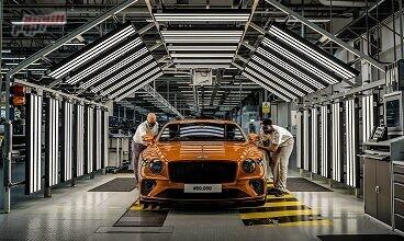 صورة Bentley تبتكر 80 ألف سيارة متميّزة من Continental GT