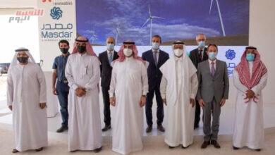 صورة إنجاز نصف الأعمال الإنشائية لمشروع أكبر محطة لطاقة الرياح في السعودية