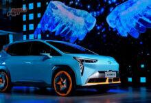 صورة تقديم سيارة GAC Aion الكهربائية 600 كيلو متر بـ 20 ألف دولار