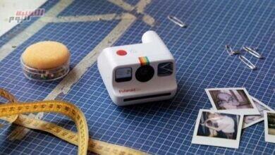 """صورة """"بولارويد"""" تُطلق أصغر كاميرا فورية تناظرية"""