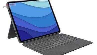 """صورة """"لوجيتك"""" تُطلق """"Combo Touch""""لوحة المفاتيح لأجهزة آيباد برو12.9بوصة """"الجيل الخامس"""" و11 بوصة """"الجيل الثالث"""""""