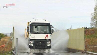 """صورة """"المسعود للمركبات والمعدات التجارية"""" توفر """"شاحنات رينو"""" نوع T X-64 في أبوظبي"""