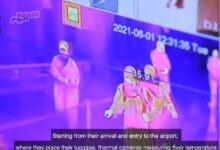 صورة فيديو| مطار القاهرة الدولي ضمن القائمة الدولية للسفر الصحي الآمن