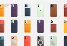 صورة آبل تقدم أغطية سيليكون بألوان صيفية لآي فون 12