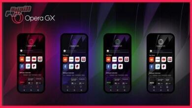 صورة فيديو| لمحبي الألعاب.. تعرف على أبرز ما يميز متصفح Opera GX Mobile
