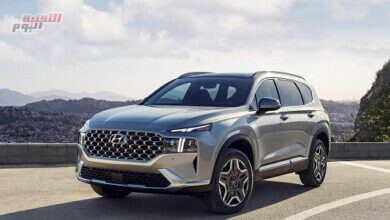 """صورة سيارة """"Hyundai Santa Fe PHEV"""" الهجينة تسير لـ50 كم دون استخدام محرك احتراق داخلي"""