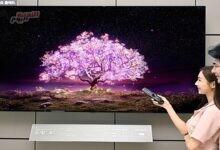 """صورة """"LG"""" تُطلق تلفزيون """"OLED"""" مقاس 83 بوصة"""