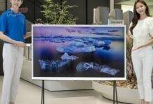 صورة سامسونج تُطلق تلفزيونًا فاخرًا بشاشة 65 بوصة و4 أرجل