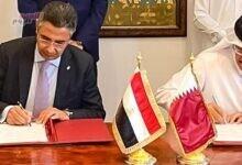 صورة البريد المصري يوقع اتفاقيتي تعاون مع نظيره القطري بالدوحة