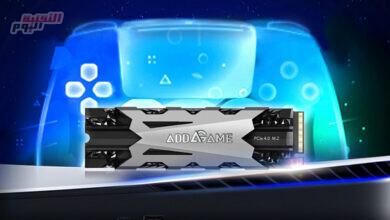 صورة محرك أقراص الحالة الصلبة AddGame A95 موجه إلى مستخدمي PlayStation 5